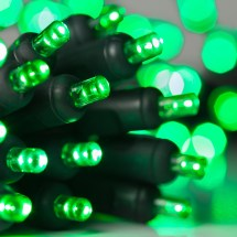 Battery Operated Lights - 20 Green 5mm