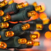 Battery Operated Lights - 20 Amber 5mm