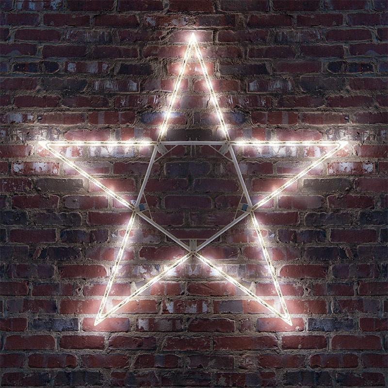 Snowflakes Amp Stars 32 Quot Led Folding Star Decoration 50