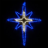 Lighted Star Outdoor Decoration - Outdoor Lighting Ideas