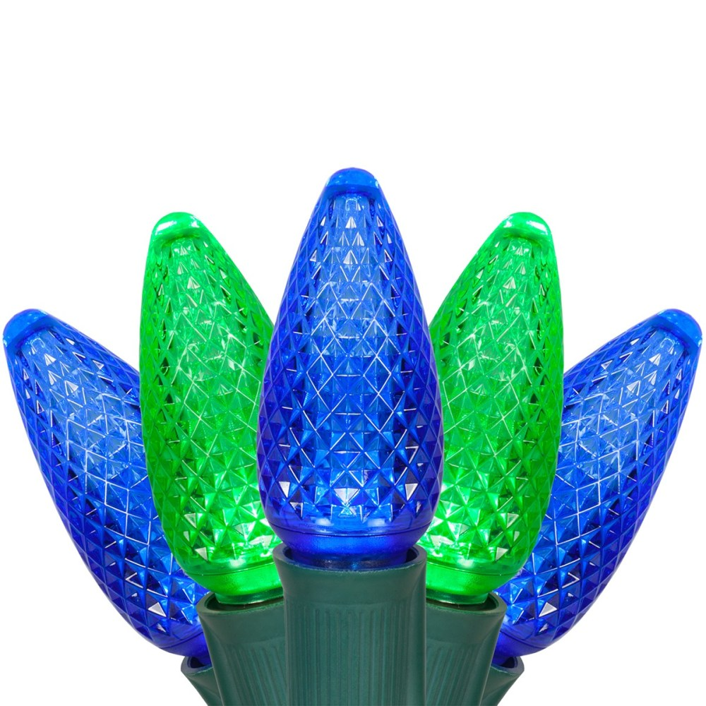 medium resolution of c9 blue and green led christmas string lights