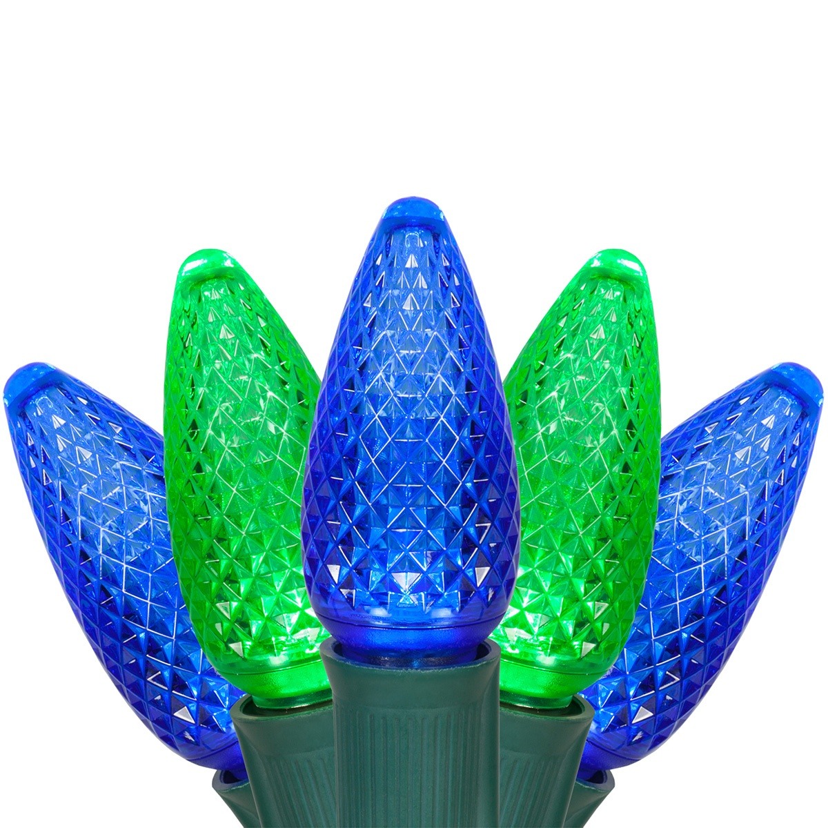 hight resolution of c9 blue and green led christmas string lights