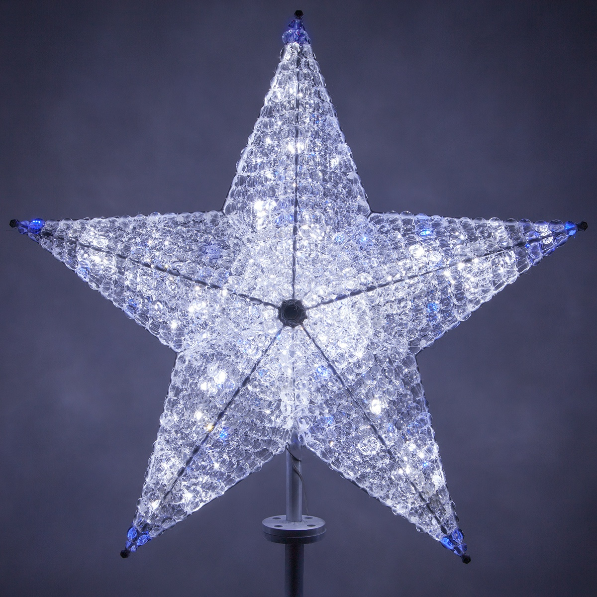 Christmas Decorations Shimmering Cool White Amp Blue Led
