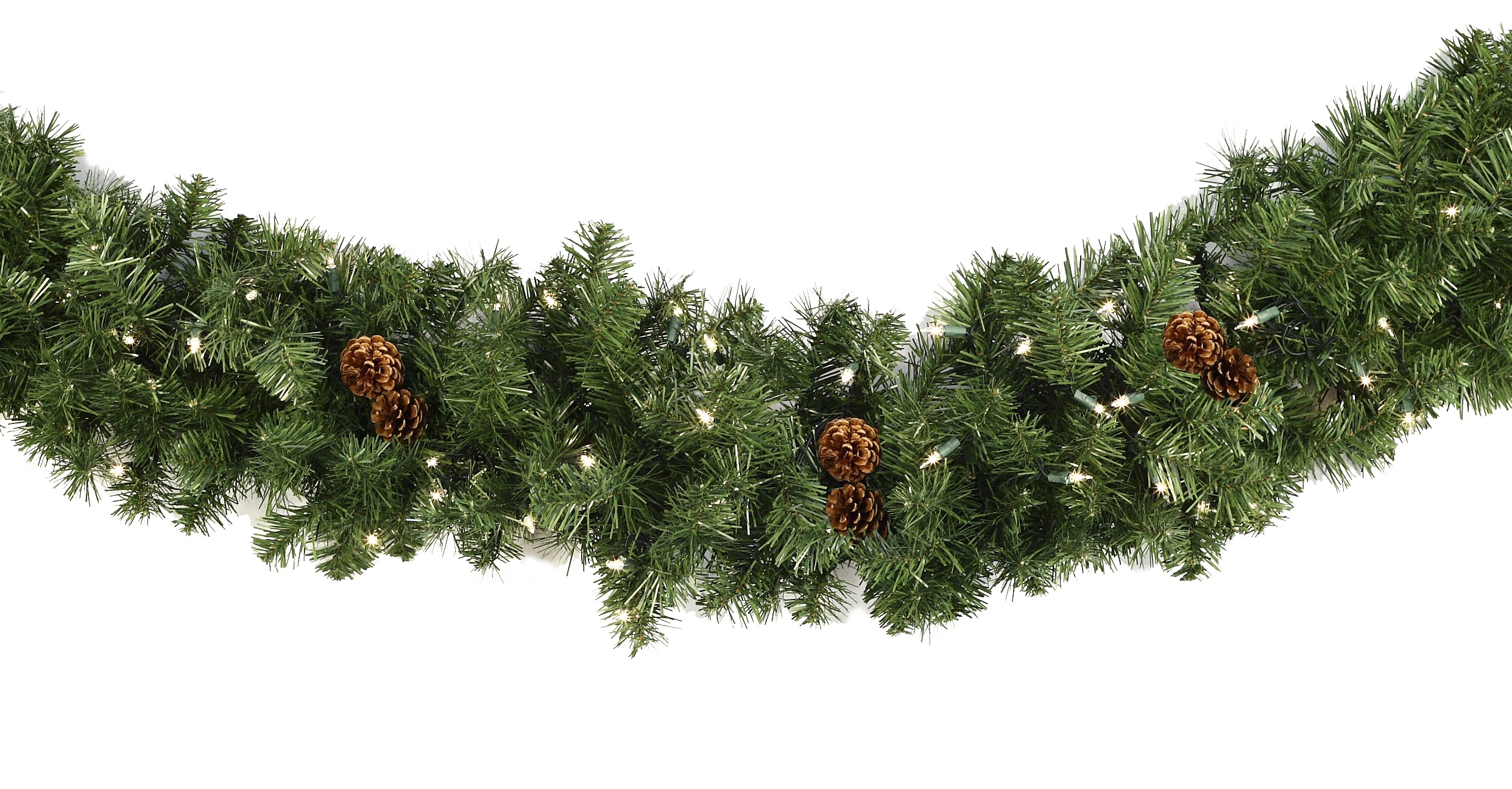 Lighted Christmas Garland  Winchester Fir Prelit LED