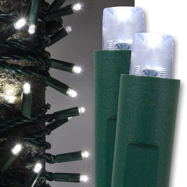 Wide Angle 5MM LED Lights 50 Cool White LED Christmas