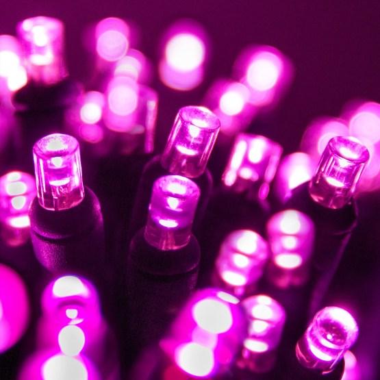 Wide Angle 5MM LED Lights 70 5mm Pink LED Christmas