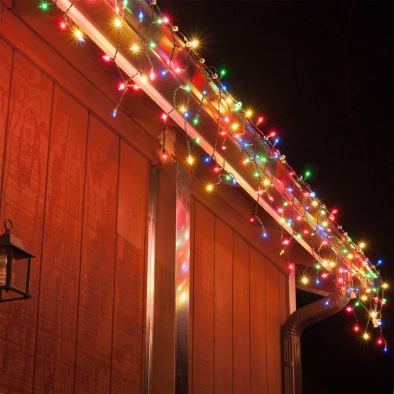 Multi Color Icicle Led Christmas Lights