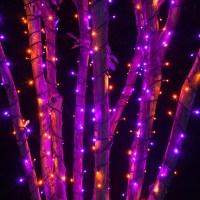 Wide Angle 5MM LED Lights - 70 5mm Purple, Orange LED ...
