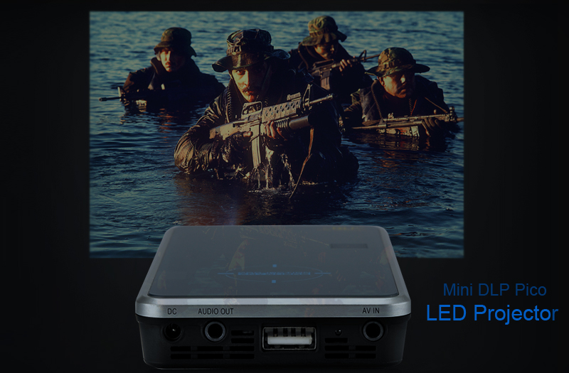 Mini DLP Pico LED Projector