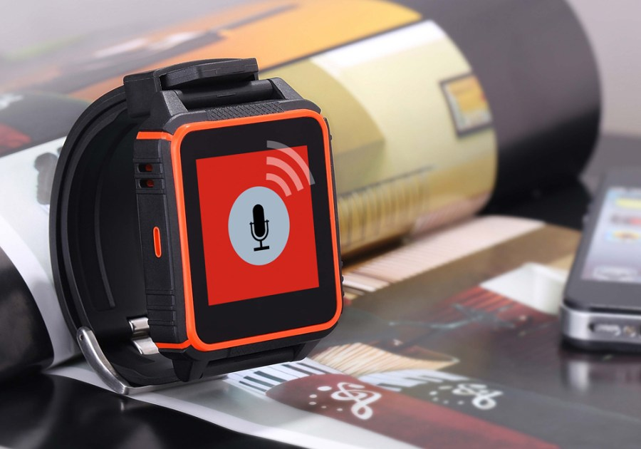 Waterproof Phone Watch 'TrekSmart'