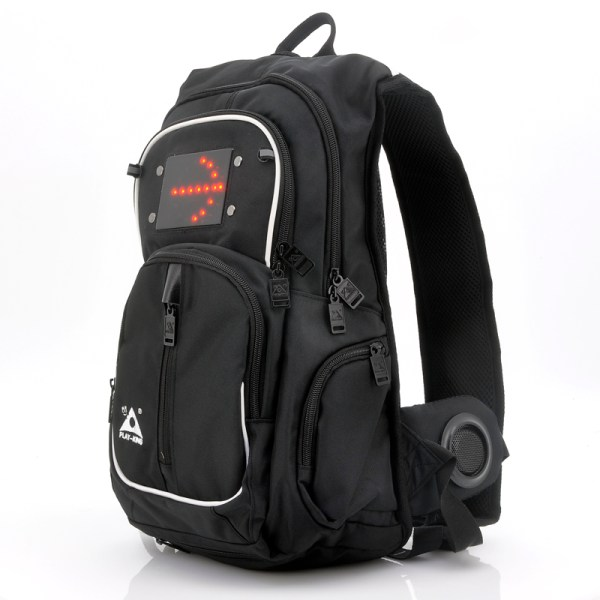 Backpack With Double Speakers - Led Sign Lights
