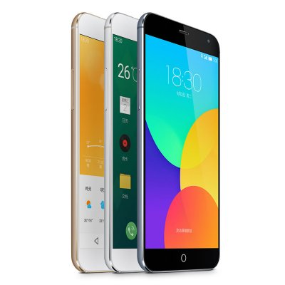 Meizu MX4 4G Smartphone - 32GB Memory Capacity, MTK6595 Octa-Core, Sharp 5.4 Inch Display, International Version