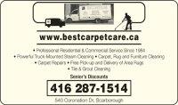 Best Carpet Care.ca - Scarborough, ON - 540 Coronation Dr ...