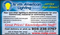 North American Lighting Products Inc - 5200 Dixie Rd ...