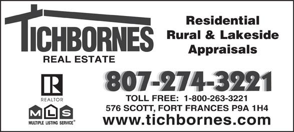 Ads Tichborne's Real Estate Brokerage