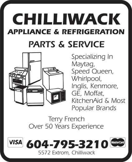 Refrigeration: Ae Refrigeration Appliance Service