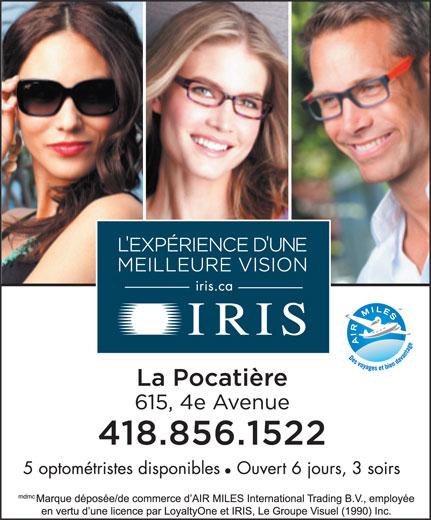 Iris (418-856-1522) - Annonce illustrée======= -