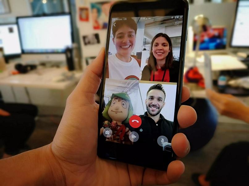 Videollamada grupal de Whatsapp podrían hacer colapsar la aplicación