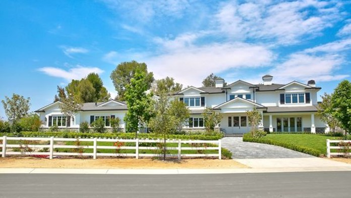 Quarantine: are the mansions where stars of Hollywood spend their days.