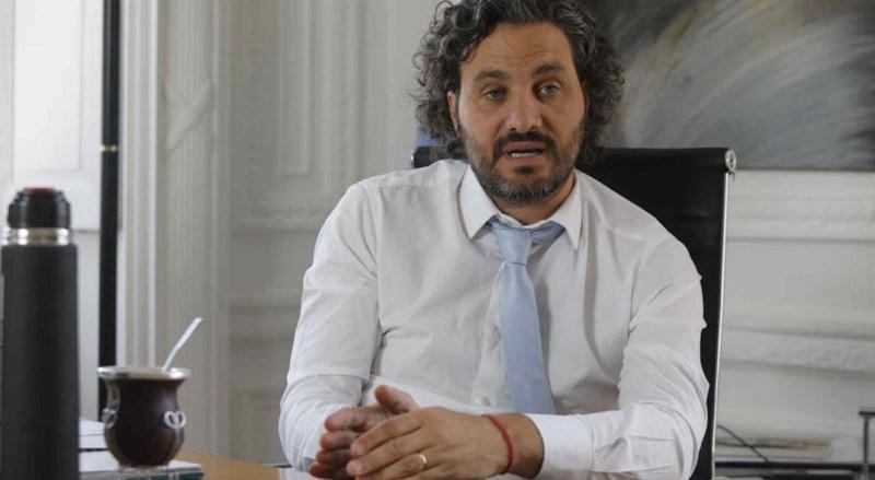"""Resultado de imagen de Cafiero apuntó a la oposición por la Sputnik V: """"Hoy quedan pagando"""""""