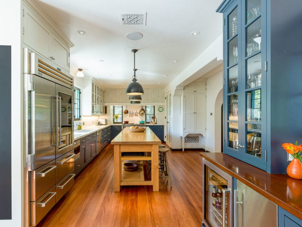 La espaciosa cocina
