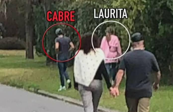 ¿Reconciliados?, la foto de Laurita Fernández y Nicolás Cabré nuevamente juntos