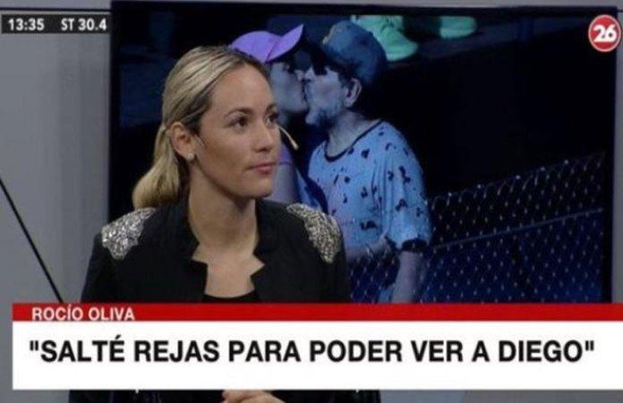 """""""Murió solo, abandonado, triste"""", Rocío Oliva volvió a hablar tras la muerte de Diego Maradona"""