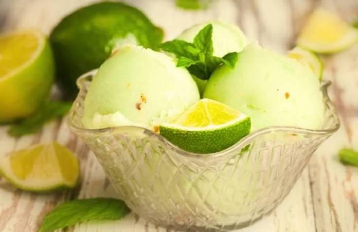 helado saludable y refrescante