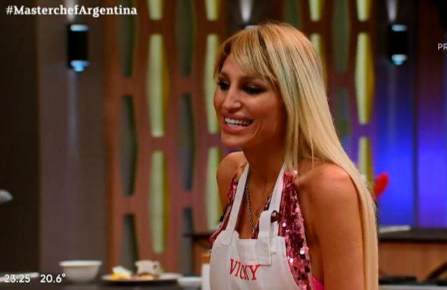 """Vicky Xipolitakis se puso una liga e incomodó a Germán: """"Estoy lista para el casamiento"""""""