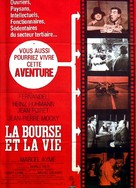 La Bourse Et La Vie : bourse, Bourse, (1966), Movie, Posters