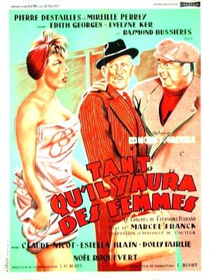 Tant Qu'il Y Aura Des Femmes : qu'il, femmes, Qu'il, Femmes, (1955), Movie, Posters