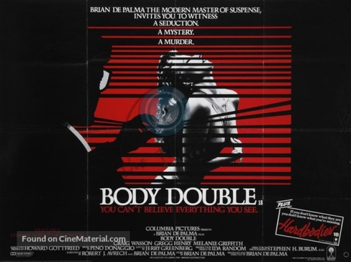 Image result for body double poster
