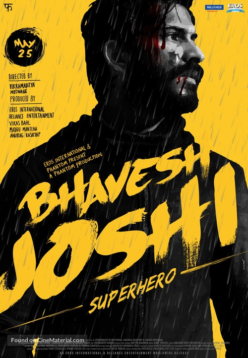 Image result for Bhavesh Joshi Super Hero  poster