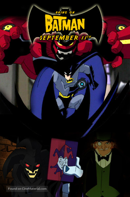 The Joker Animated Wallpaper Quot The Batman Quot 2004 Movie Poster