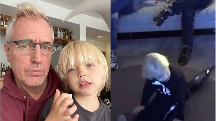 Mirko justificó su travesura y sorprendió a su papá.