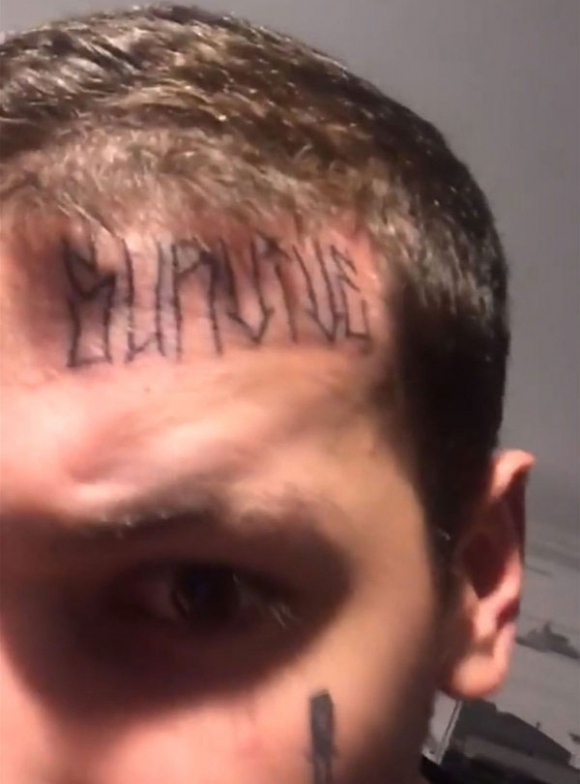 Se tatu la cara Los nuevos tatuajes de Alexander