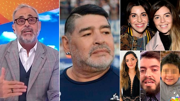 """Jorge Rial reflected on Maradona's bond with his children: """"When there is  distance there is an affection that you lose"""" – Archyde"""