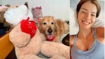 """El tierno gesto de la China con una perra que fue maltratada en la calle: """"Su madrina le devolvió la felicidad"""""""