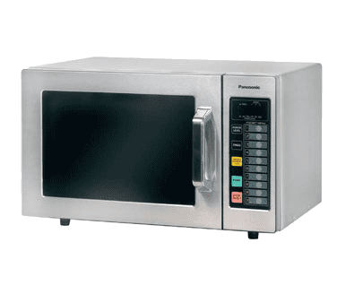 panasonic ne 1064f pro 0 8 cu ft 1 000 watt digital commercial microwave oven
