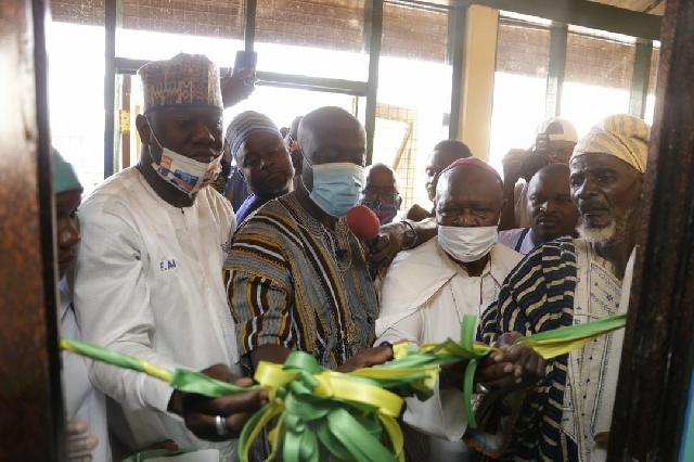 Oppong Nkrumah opens GBC's Naya Radio in Yendi 1