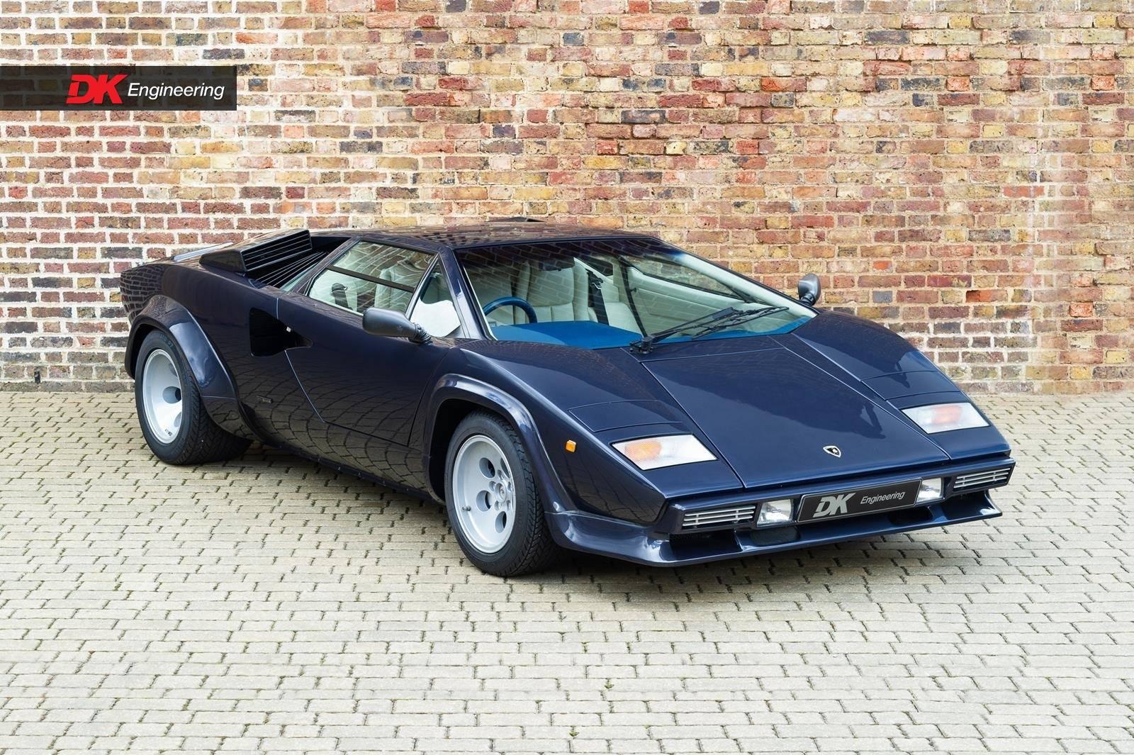 For Sale: Lamborghini Countach LP 5000 QV (1986) offered for GBP 464.995