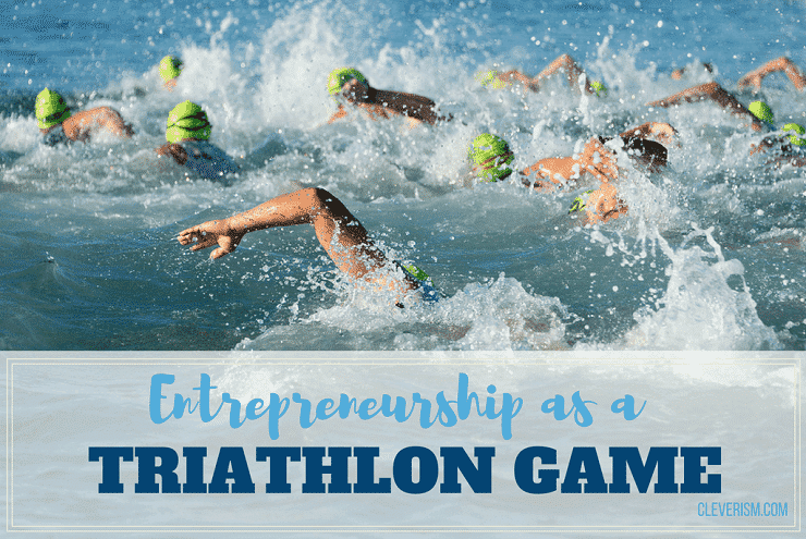 Entrepreneurship as a Triathlon Game