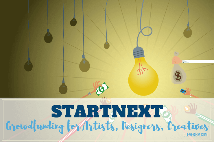 STARTNEXT | Crowdfunding for Artists, Designers, Creatives
