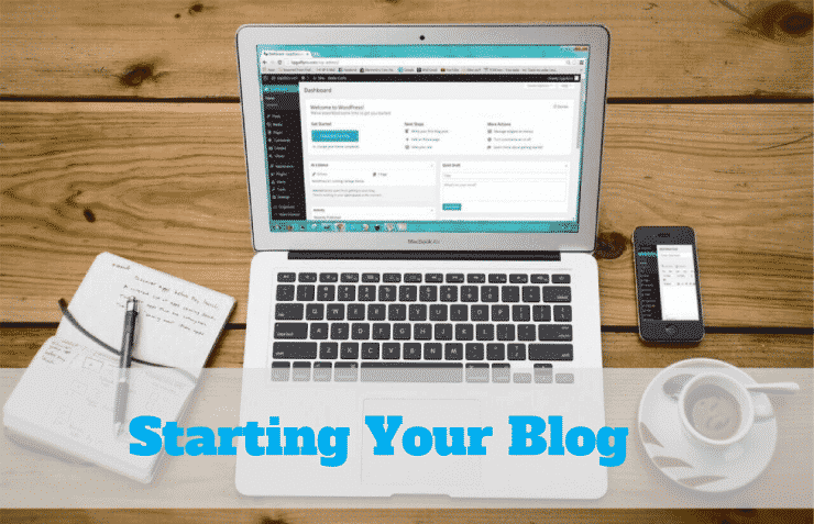 How To Start a Blog, and on Bluehost