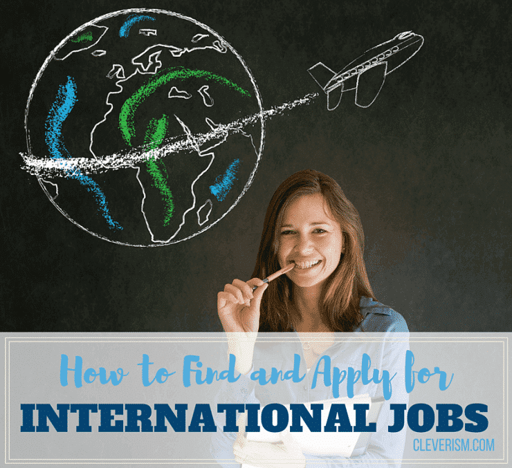 How to Find and Apply for International Jobs