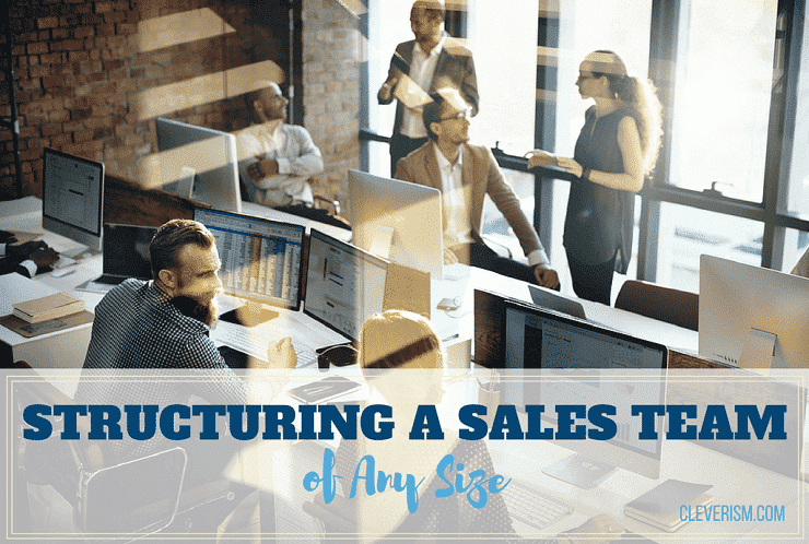 Structuring a Sales Team of Any Size
