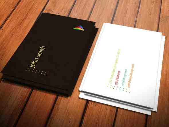 22-minimal-color-dot-business-card-template