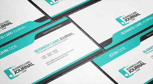 75 free business card templates that are stunning beautiful 41 cool blue creative business card template friedricerecipe Gallery
