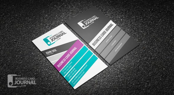 75 free business card templates that are stunning beautiful 43 stylish and creative vertical business card template flashek Gallery