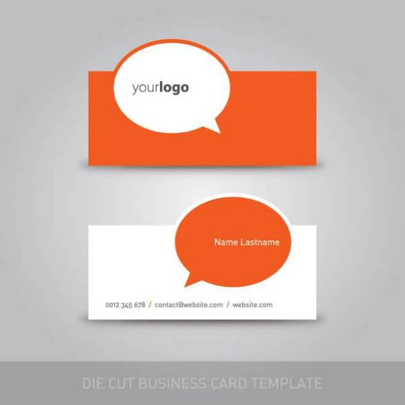 75 free business card templates that are stunning beautiful 7 die cut business card template accmission Gallery
